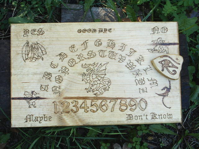 Five Sacred Dragons Guard this Ouija Board