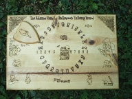 Adams Family Halloween Ouija Board